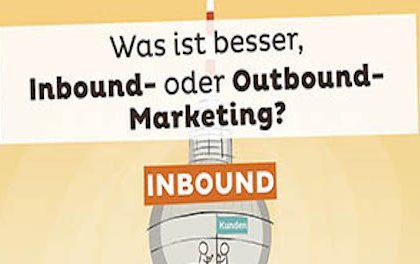 Inbound-Outbound-Marketing: Die Mischung macht's oder etwa nicht?