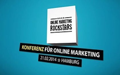 Online Marketing Rockstars 2014 – Speaker, Specials, Schiff Ahoi!