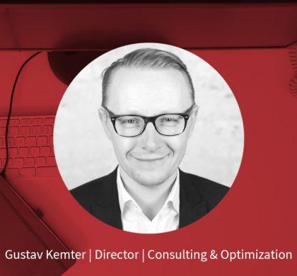 Gustav Kemter – Director Consulting & Optimization