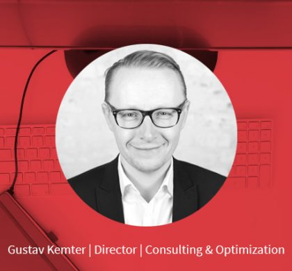 Gustav Kemter – Director Consulting & Optimization