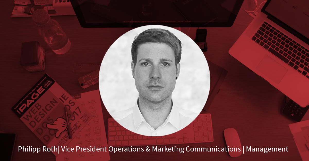 Philipp Roth – Vice President Operations & Marketing Communications
