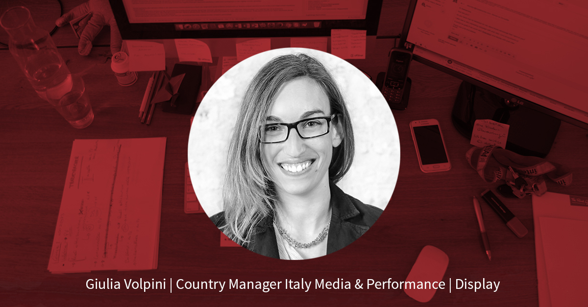 Giulia Volpini – Country Manager Italy Media & Performance