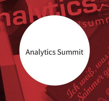 Recap Analytics Summit 2017