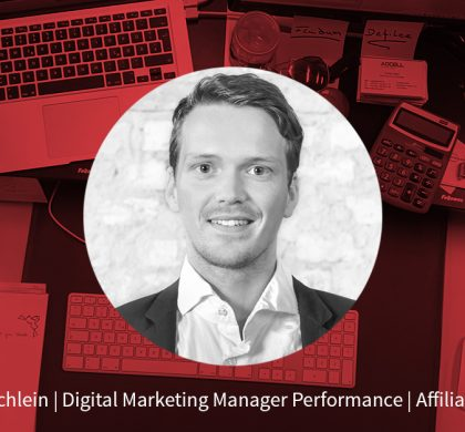 Florian Börschlein – Digital Marketing Manager Performance