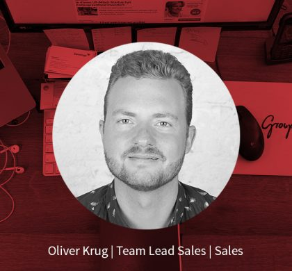 Oliver Krug – Team Lead Sales