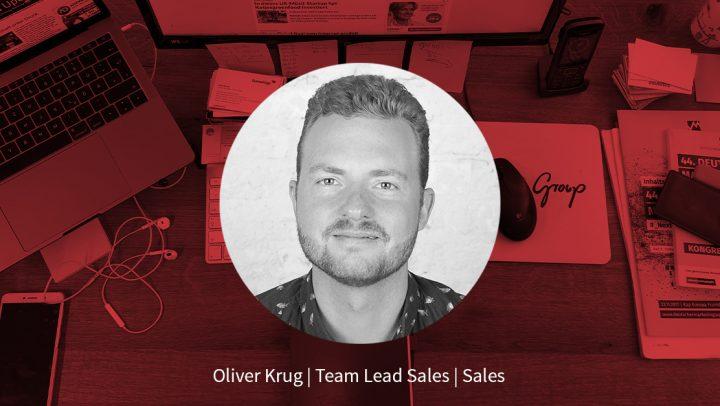 Oliver Krug – Team Lead Sales