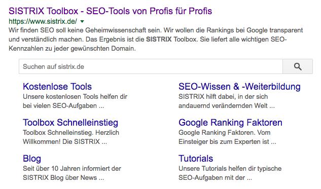 Google-suche-sistrix