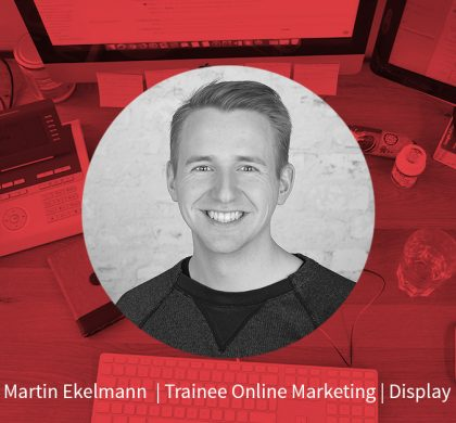 Martin Ekelmann – Trainee Onlinemarketing