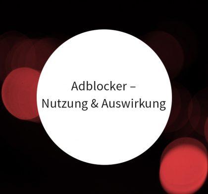 Adblocker – Ihre Auswirkungen und wie zielführend mit ihnen umgegangen werden kann