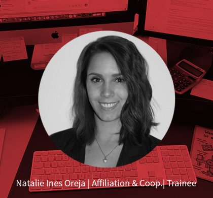 Natalie Ines Oreja – Trainee Affiliation & Coop.