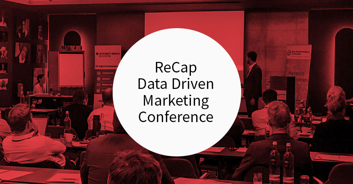 ReCap Data Driven Marketing Conference