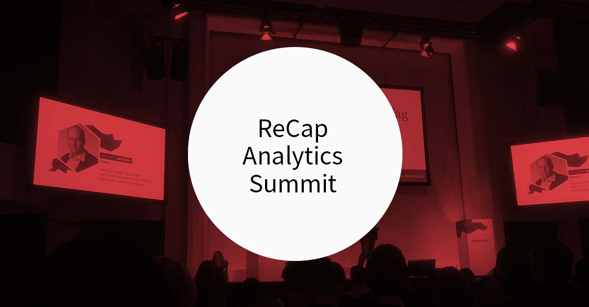 ReCap Analytics Summit