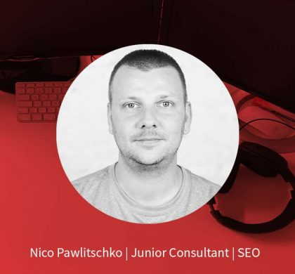 Nico Pawlitschko – Online Marketing Manager SEO