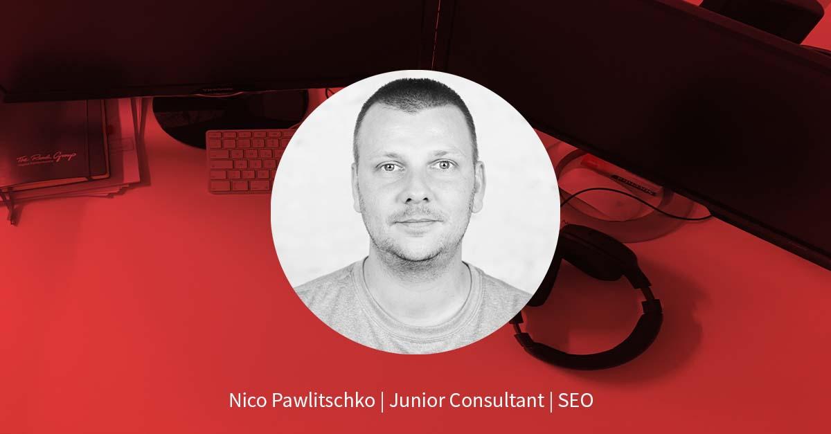 Nico Pawlitschko – Online Marketing Manager SEO
