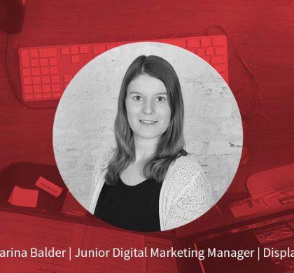 Carina Balder – Junior Digital Marketing Manager Display