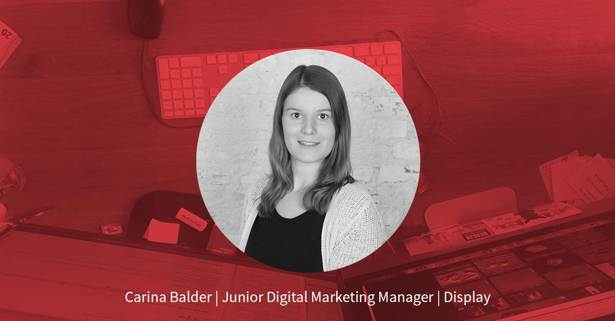 Carina Balder – Junior Digital Marketing Manager Display