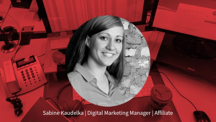 Sabine Kaudelka – Senior Digital Marketing Manager Affiliate