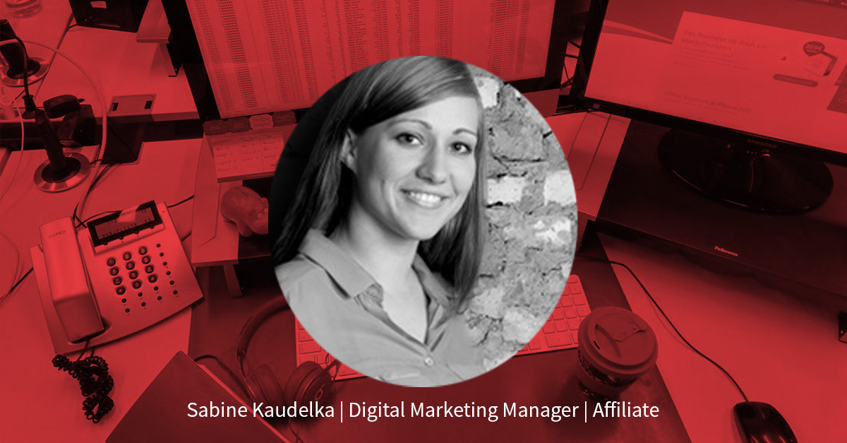 Sabine Kaudelka – Senior Digital Marketing Manager Affiliate